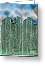 Three Towers 1 Greeting Card