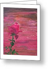 Through Rose Colored Glasses Greeting Card