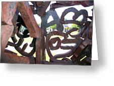 Through The Alphabet Greeting Card
