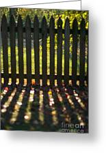 Through The Fence Greeting Card