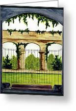 Through The Gates Greeting Card