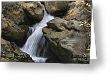 Through The Rocks Greeting Card