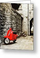 Through The Streets Of Italy - 01 Greeting Card