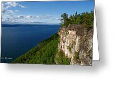 Thunder Bay Lookout Greeting Card