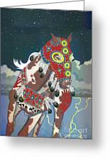Thunder Pony II Greeting Card
