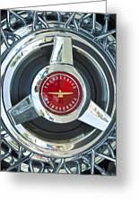 Thunderbird Rim Emblem Greeting Card