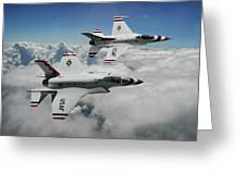 Thunderbirds Of The Future Greeting Card