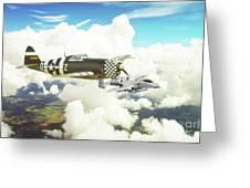 Thunderbolts Greeting Card