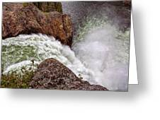 Thundering Waters Greeting Card
