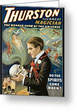 Thurston The Great Magician Greeting Card