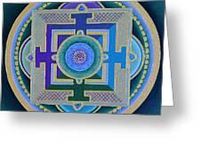 Tibetan Rose Greeting Card