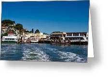 Tiburon Waterfront Greeting Card
