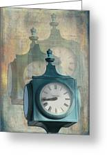 Tick Tock Version Two Greeting Card