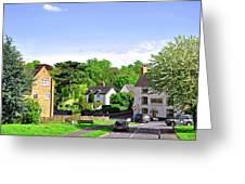 Ticknall Village From Ingleby Lane Greeting Card