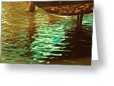 Tidal Hues Greeting Card