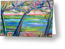 Tidal Marsh View Greeting Card