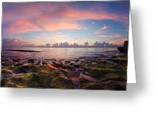 Tidal Pools At Sunrise Greeting Card