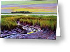 Tidal Stream Greeting Card