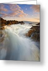 Tidal Surge Greeting Card