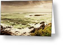 Tidal Vastness Greeting Card
