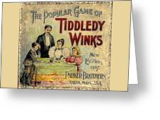 Tiddledy Winks Greeting Card
