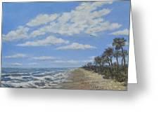 Tide Line Greeting Card