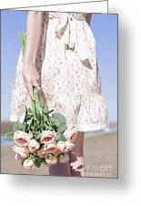 Tide Of Romance Greeting Card