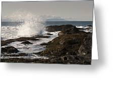 Tide Pool Wave Greeting Card