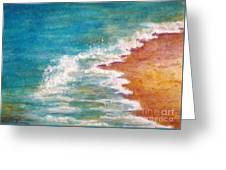 Tide Rushing In Greeting Card