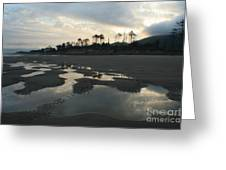 Tidepools At Dawn Greeting Card