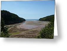 Tides Out Greeting Card