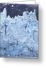 Tidewater Glacier In Glacier Bay Greeting Card
