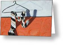 Tie On Hanger Greeting Card