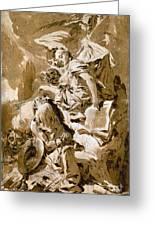 Tiepolo: Saint Jerome Greeting Card