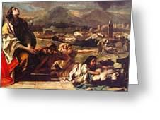 tiepolo15 Giovanni Battista Tiepolo Greeting Card