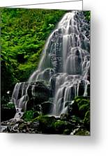 Tiered Falls Greeting Card
