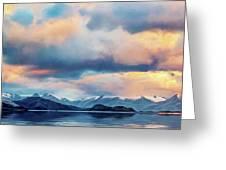 Tierra Del Fuego Greeting Card