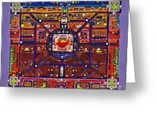 Tierra Roja Greeting Card