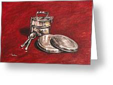 Tiffin Carrier - Still Life Greeting Card