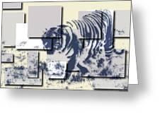 Tiger 5 Greeting Card