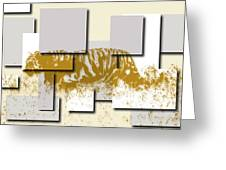 Tiger 6 Greeting Card
