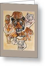 Tiger Haven Greeting Card