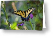 Tiger Swallowtail Painting Greeting Card