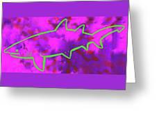 Tigershark 6 Greeting Card