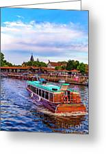 Tigre Delta 015 Greeting Card