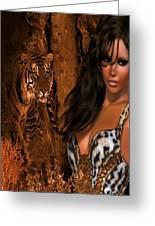 Tigress # 2 Greeting Card