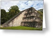 Tikal Mayan Site Guatemala Greeting Card