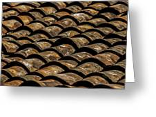 Tile Roof 2  Greeting Card