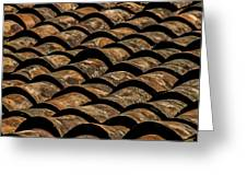 Tile Roof 3 Greeting Card