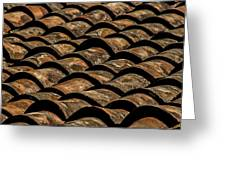 Tile Roof 4 Greeting Card